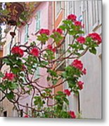 Flowers Of Villefranche Metal Print
