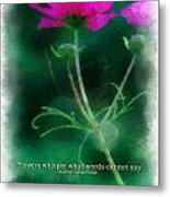 Flowers Whisper 01 Metal Print