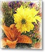 Flowers With Love Metal Print