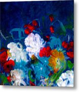 Flowers4 Metal Print
