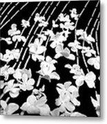 Flowery Flow Metal Print