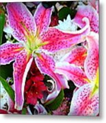 Flowerz Metal Print