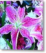 Flowerz2 Metal Print