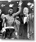 Floyd Patterson After Win Metal Print by Retro Images Archive