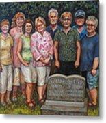 Floyd Family Cousin's Portrait Metal Print