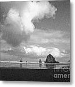 Fluffy Cloud Metal Print