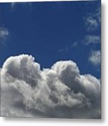 Fluffy Clouds 1 Metal Print