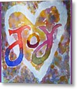 Fluid Joy Metal Print