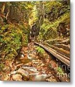 Flume Gorge Landscape Metal Print