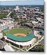 Fluor Field At The West End Greenville Metal Print