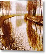 Flowing Its Course Metal Print