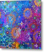 Fly Away To Fairy Day Metal Print