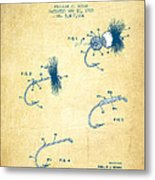 Fly Fishing Lure Patent From 1969 - Vintage Paper Metal Print