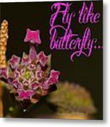Fly Like A Butterfly Metal Print by Old Pueblo Photography