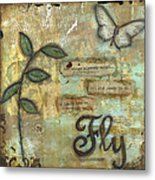 Fly Metal Print by Shawn Petite