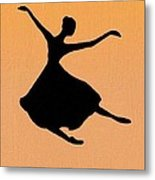 Flying Dancer Metal Print
