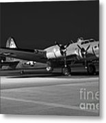 Flying Fortress On The Ramp Metal Print