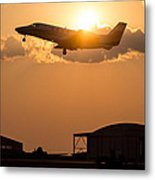 Flying Home Metal Print
