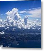 Flying Over Clearwater Metal Print