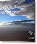 Flying Over Southern California Metal Print