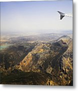 Flying Over Spanish Land I Metal Print
