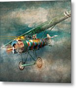 Flying Pig - Acts Of A Pig Metal Print