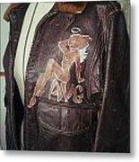 Flying Tiger Jacket Art Metal Print