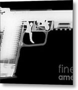 Fn 57 Reverse Metal Print