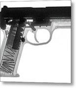 Fn P9a Hand Gun X-ray Print Metal Print