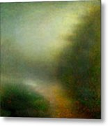 Fog #3 - Silent Words Metal Print