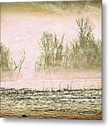 Fog Abstract 1 Metal Print by Marty Koch