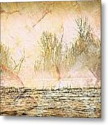 Fog Abstract 4 Metal Print by Marty Koch