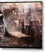 Fog And Rust Metal Print