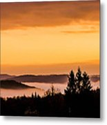 Fog Below Metal Print