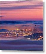 Fog City - San Francisco Metal Print