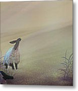 Fog On The Moor Metal Print