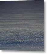 Foggy Day Over The Pacific Ocean Metal Print