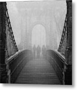 Foggy Day(they) Metal Print