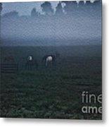Foggy Dew Metal Print