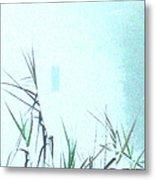 Foggy  Marsh Mornng Metal Print