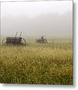 Foggy Morning Metal Print by Dana Moyer