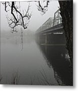 Foggy Morning In Paradise - The Bridge Metal Print