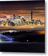 Foggy Night Metal Print by Alexis Birkill