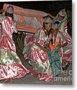 folk dance group from Madagascar 2 Metal Print