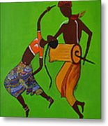 Folk Dance Metal Print