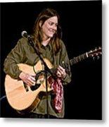 Folk Musician Denise Franke Metal Print