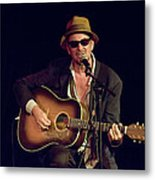 Folk Singer Greg Brown Metal Print