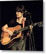 Folk Singer Pieta Brown Metal Print