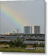 Follow That Rainbow Metal Print