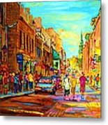 Follow The Yellow Brick Road Metal Print